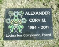 Cory's marker